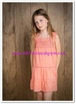 Mango kız çocuk tığ işlemeli elbise-50 TL