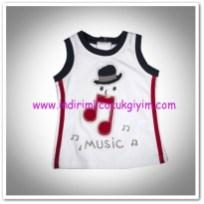 Panço erkek bebek beyaz atlet-7,50 TL