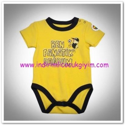 Panço erkek bebek sarı fenerbahçe body-19,50 TL