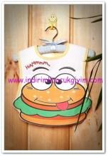 Tozlu Giyim hamburger bebek önlüğü-13 TL