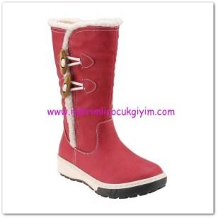 FLO kız çocuk kırmızı çoban düğmeli çizme-100 TL