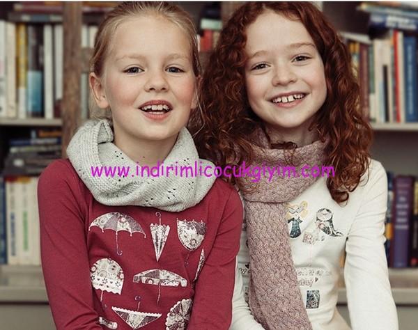 Kanz 1-14 yaş kız çocuk giyim modelleri