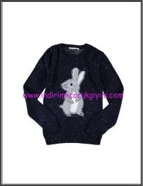 LCW genç kız lacivert tavşanlı kazak-36 TL
