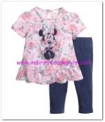 HM-kız bebek çiçekli bluz-tayt takımı-40 TL