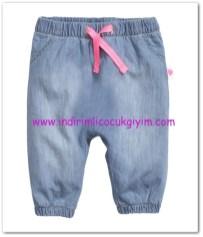 HM-kız bebek astarlı pamuk pantolon-30 TL