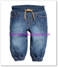HM-kız bebek pull-on kot pantolon-35 TL
