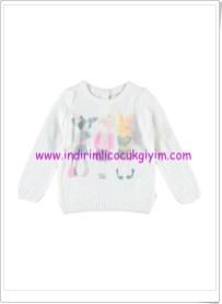 LCW kız çocuk ekru kazak modelleri-20 TL