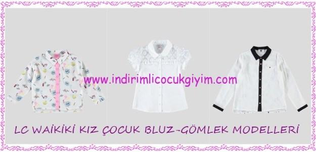LCW indirimli kız çocuk bluz-gömlek modelleri