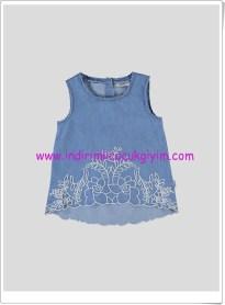 LCW kız çocuk kolsuz denim gömlek-30 TL