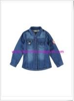 LCW kız çocuk koyu mavi kot gömlek-20 TL