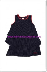 U.S Polo kız çocuk lacivert puanlı elbise-50 TL