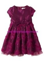Bonprix kız çocuk dut rengi abiye elbise