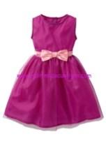 Bonprix mor kurdelalı kız çocuk abiye elbise