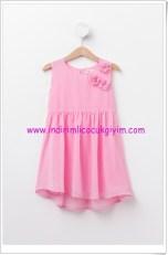 DeFacto kız çocuk pembe elbise-25 TL