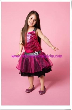 DeFacto kız çocuk pop star yıldızı kostümü-80 TL