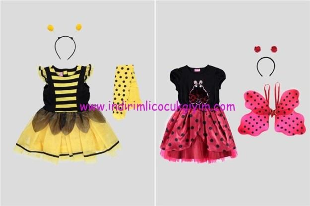 LCW kız çocuk 23 Nisan kostümleri