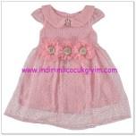 Civil kız çocuk pembe elbise