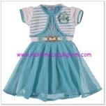 Civil kız çocuk turkuaz elbise