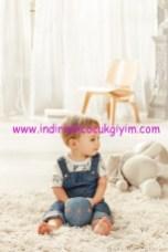 Koton bebek denim tulum modelleri
