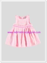 LC Waikiki kız bebek pembe elbise-30 TL