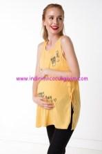 DeFacto sarı hamile atlet