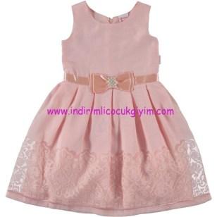 Civil kız çocuk yavruağzı elbise