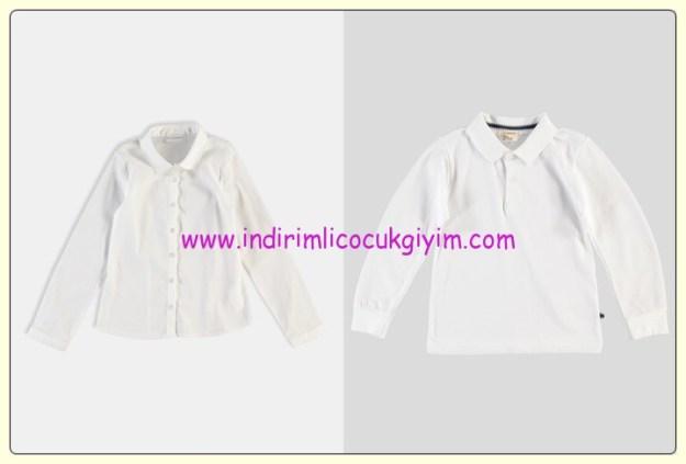 LC Waikiki çocuk beyaz gömlek-body