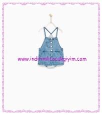 Zara kız bebek külotlu denim jile-60 TL