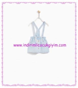 Zara kız bebek soluk mavi jile-56 TL