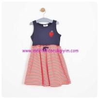 soobe 3-7 yas kız cocuk lacivert elbise-30 TL