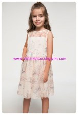 defacto desenli prenses model elbise-50 TL