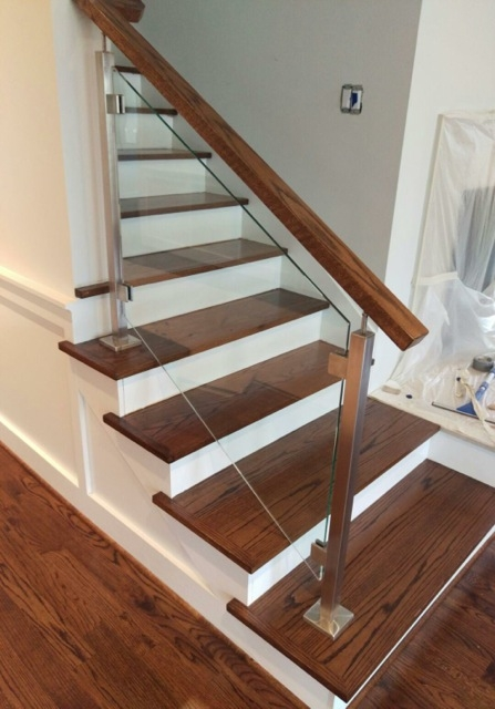 Wrought Iron Railings Stainless Steel Handrails Indital Usa | Iron Railing With Wood Handrail | Stair Systems | Stair Parts | Metal | Stair | Staircase