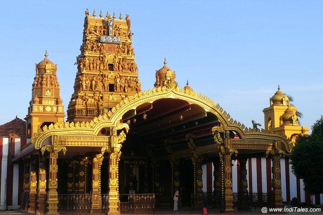 नल्लुर कंदस्वामी मंदिर - जाफना