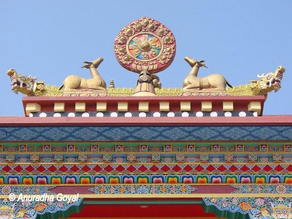 बोधगया के नए सुसज्जित मंदिर