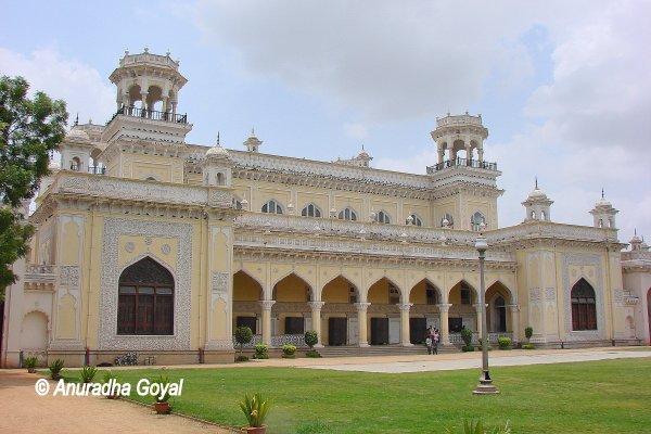 चौमहल्ला महल का संग्रहालय - हैदराबाद
