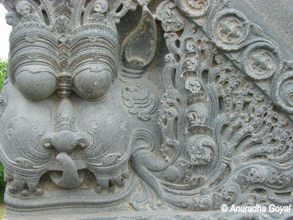 वारंगल दुर्ग की शिल्पकला