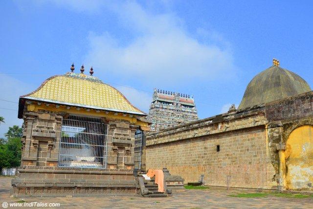 नटराज मंदिर की स्वर्णिम छत