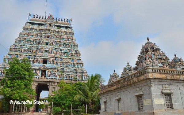 नटराज  मंदिर परिसर