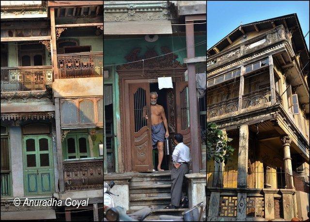 काष्ठ का काम - अहमदाबाद के पोल