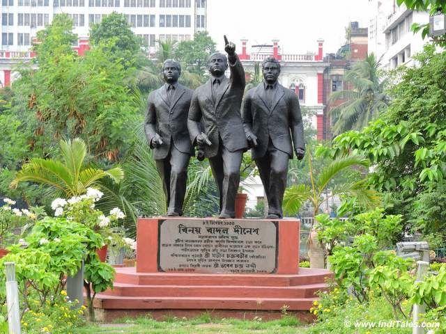 राष्ट्रवादी बिनोय बासू, बादल गुप्ता और दिनेश गुप्ता की तिगड़ी