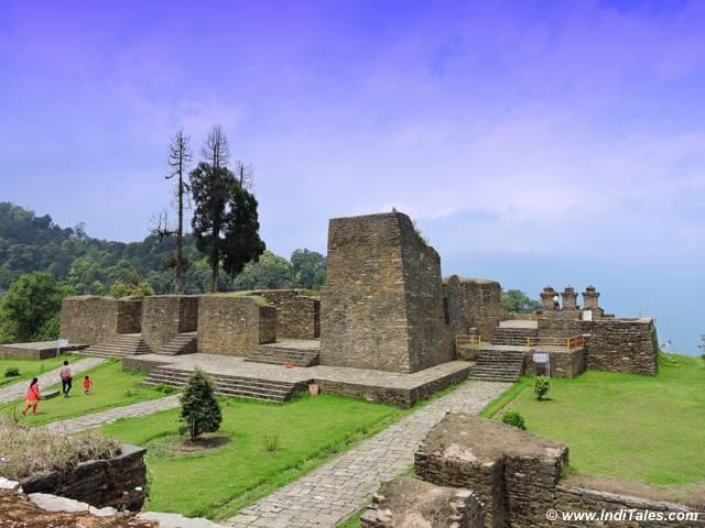 Ruins of Rabdantse Palace