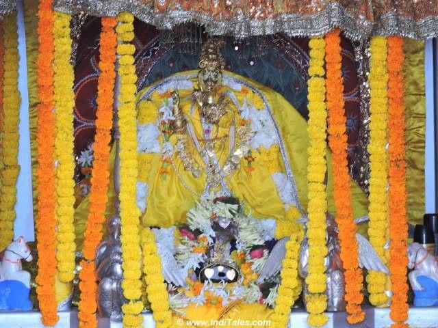 Krishna at Madan Mohan Temple