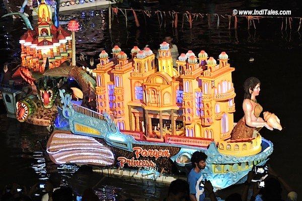 मत्स्यकन्या की नौका - गोवा