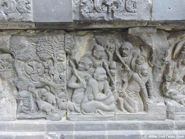 वानर सेना - रामायण दृश्य - प्रमबनन