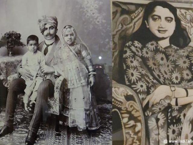 बीकानेर के राज परिवार के चित्र