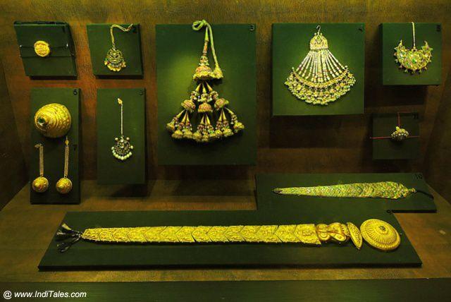 बहुमूल्य जेवर - राष्ट्रीय संग्रहालय - नई दिल्ली