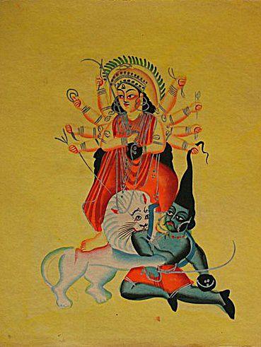कालीघाट की चित्रकारी - कोलकाता के उपहार