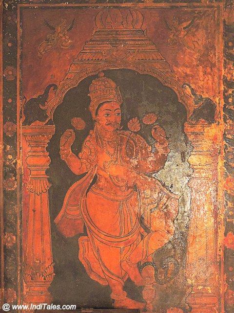 प्राचीन चित्रकला - मूडबिद्री की जैन बसदियों में