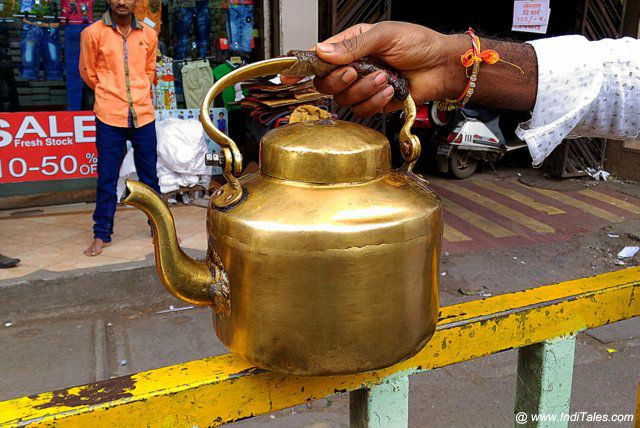Golden Tea Kettle - Pune
