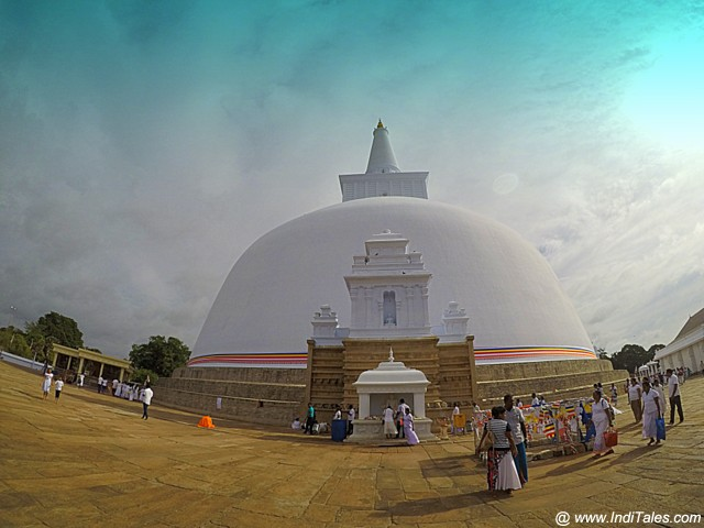 रुवन्वेली दगबा - अनुराधापुरा, श्री लंका